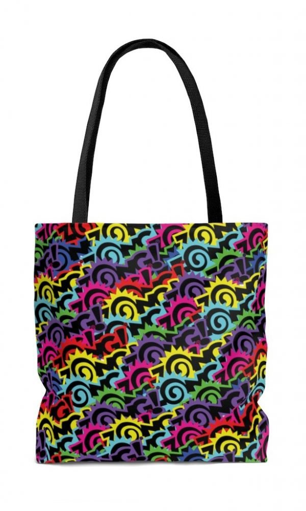 Zong Black Rainbow tote bag